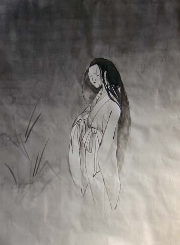 Translated from Japanese Wikipedia and Other SourcesWhite Kimono Ghost
