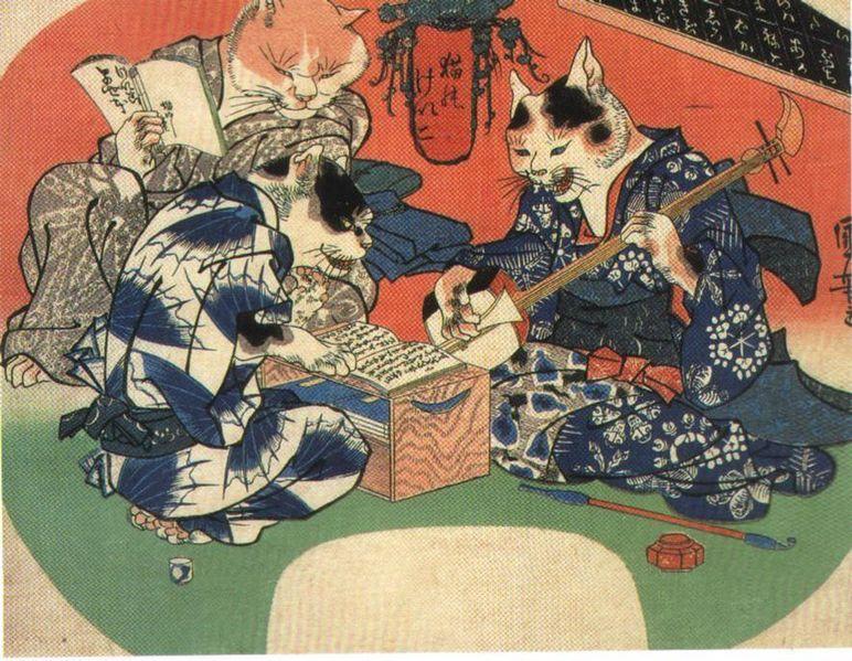 Les créatures imaginaires du Japon Bakeneko