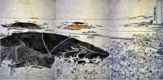 Inland Whaling2 Ukiyoe