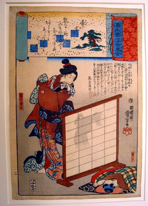 Kuniyoshi_Kuzunoha Abe no Seimei