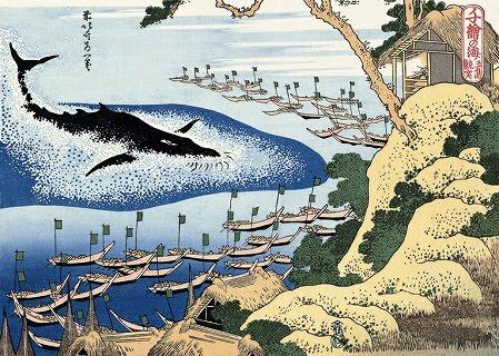 Passive Whaling Ukiyoe
