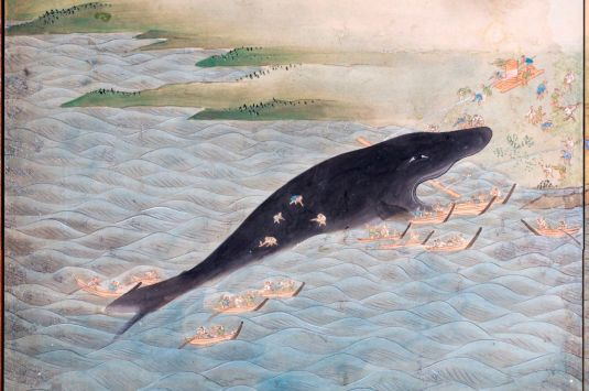 Whale God Ukiyoe