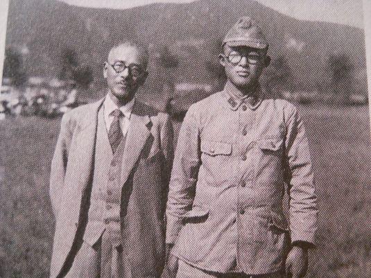 Shigeru Mizuki and Father