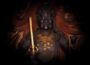 Goshiki Fudo Statue