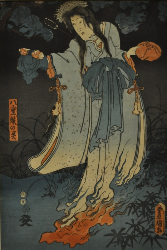 Female Ghost by Kunisada (1852)